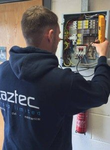 Caztec-fixing-electrical-faults-in-Durham-home